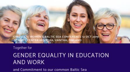 Graduate Women's Baltic Sea Conference 2019