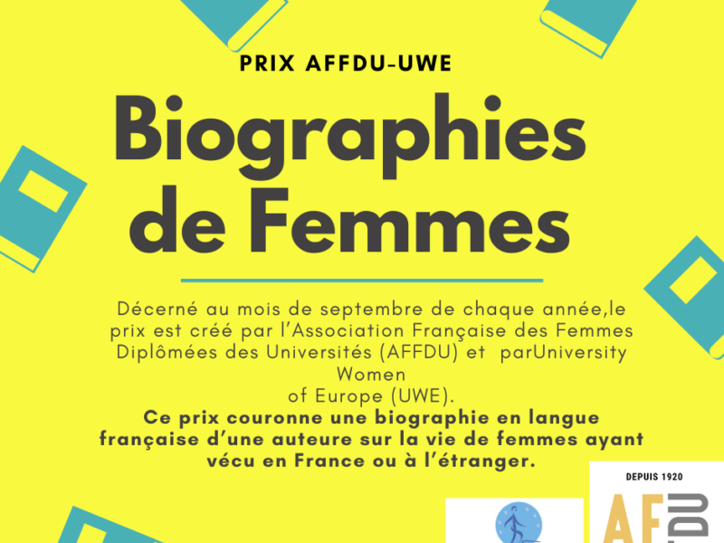 Women's Biography Award