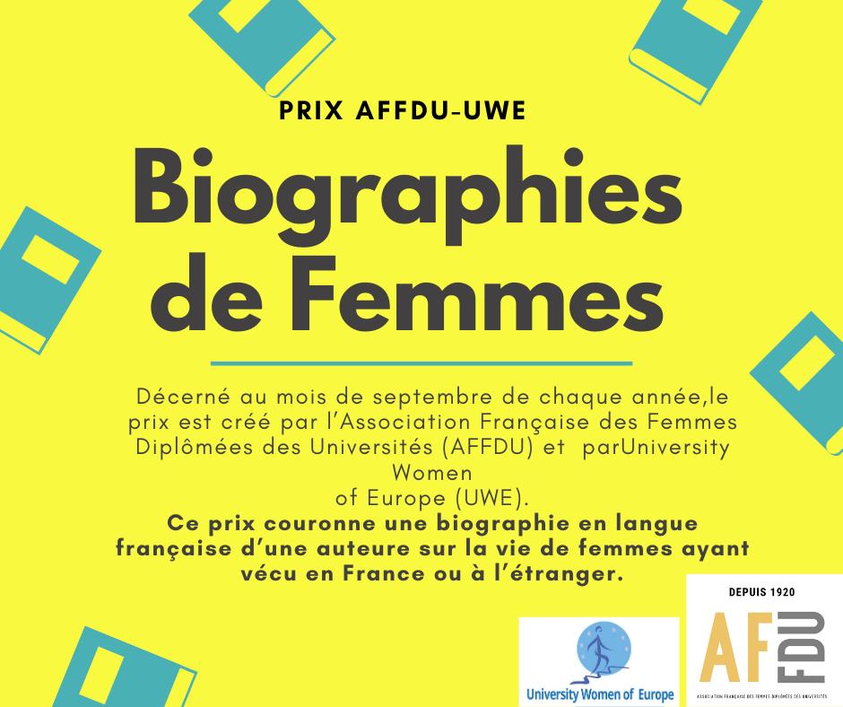 Women's Biography Award