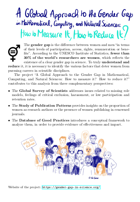 A Global Approach to the Gender Gap in Science