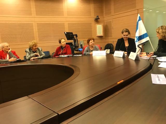 UWE President meets the Israel Association of University Women (IAUW)