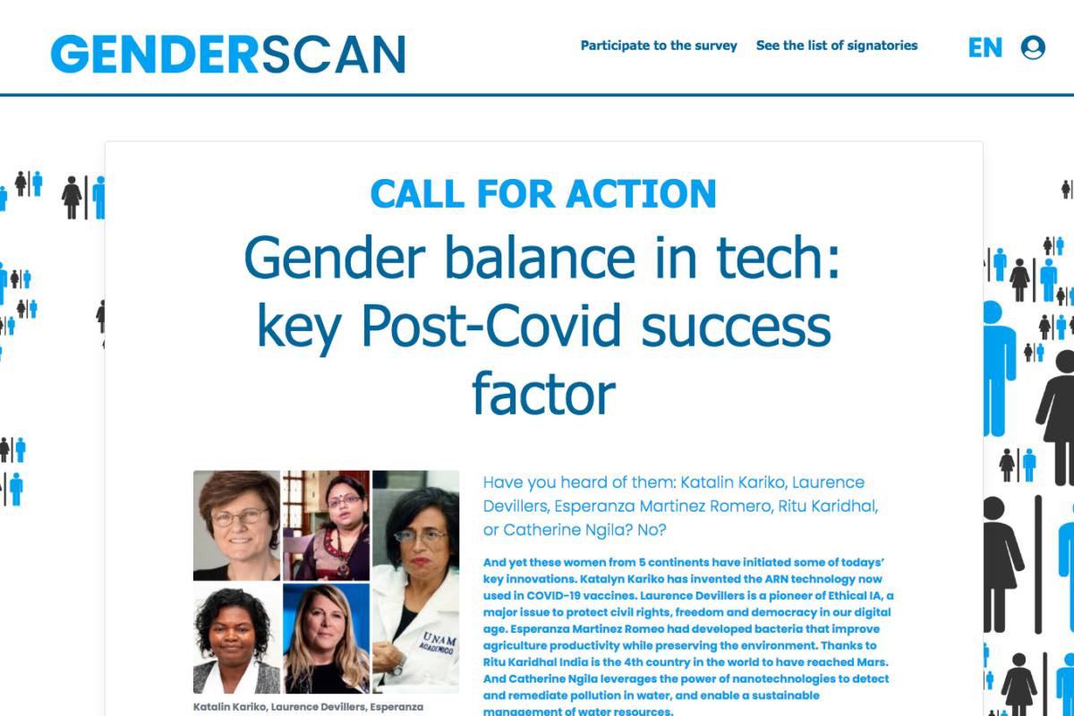 Online Survey Gender Scan 2021
